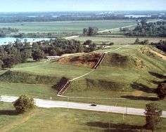 Cahokia Mounds, Collinsville, Illinois