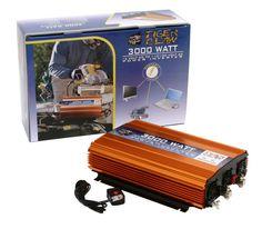 Tiger Claw 3000 Watt Power Inverter DC-AC 6000 Watt Peak Power Car Truck | Consumer Electronics, Vehicle Electronics & GPS, Car Electronics Accessories | eBay!