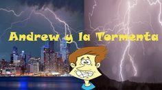 Andrew Y La Tormenta. Videolibro sobre los miedos, preocupaciones y cómo...