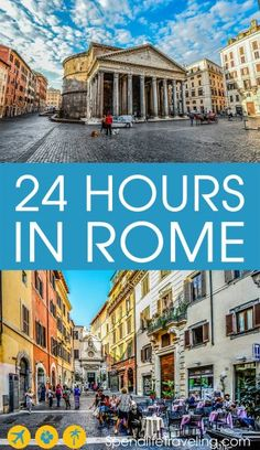 24 Hours in Rome: What to see & do. Highlights not to miss in Rome on a short visit. #Rome #visitRome #citybreak #traveltips