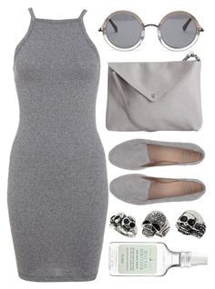 """""""Untitled #156"""" by deep-serene ❤ liked on Polyvore featuring The Row, SANTA CLARA Milano, Topshop, Pieces, Miss Selfridge and Drybar"""