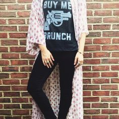 Buy me brunch tee Graphic tee from SF company buy me brunch known for their hilarious shirts and hoodies. Buy me brunch Tops Tees - Short Sleeve