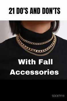 21 Do's And Don'ts With Fall Accessories Halloween And More, Fall Accessories, Autumn Fashion, 21st, Clothes, Jewelry, Outfits, Fall Fashion, Clothing