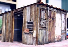 Farm shed in 1:12 scale by alialamedy1982, via Flickr