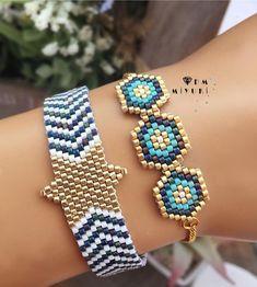 Beaded Jewelry, Handmade Jewelry, Bead Loom Bracelets, Tear, Bracelet Tutorial, Bracelet Patterns, Bead Weaving, Jewelry Branding, Jewelry Crafts