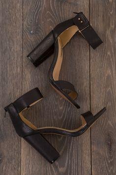 Billini Portia Strappy  Heel - Womens Heels - Black - Birdsnest Online Fashion