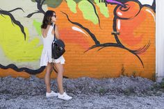 dress + sneakers // today on chicityfashion.com