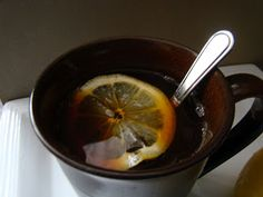 Honey and Lemon Cold Remedy Drink
