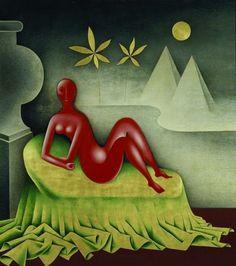 Kleopatra by Jan Zrzavý, Modern Art, Contemporary Art, Art Cart, Art Prints For Sale, Illustrations, Affordable Art, Home Decor Wall Art, Famous Artists, Artist Art