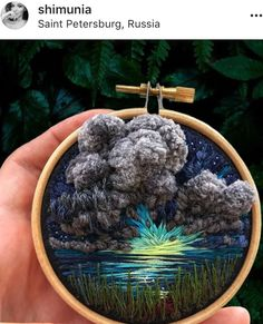 Awesome Most Popular Embroidery Patterns Ideas. Most Popular Embroidery Patterns Ideas. Embroidery Hoop Art, Cross Stitch Embroidery, Embroidery Patterns, Cross Stitching, Sewing Crafts, Sewing Projects, Fabric Art, Textile Art, Needlepoint