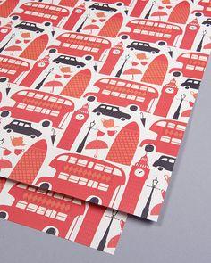 Gift wrap by Debbie Powell | Lagom Design