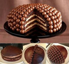 Make a Delicious Maltesers Cake