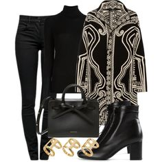 Untitled #2004 by mariandradde on Polyvore featuring Etro, Joseph, Proenza Schouler, Yves Saint Laurent and ASOS