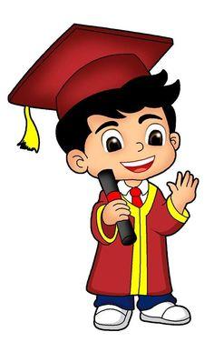 Drawing For Kids, Art For Kids, Graduation Images, Graduation Cartoon, Student Cartoon, Ribbon Png, Doodle Girl, Islamic Cartoon, Kids Background