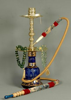 Special Hand Made Ottoman Style Hookah. $399.00, via Etsy JAW DROPPER  | Come to Lux Lounge in West Bloomfield, MI to relax with friends at a premiere hookah lounge in an upscale atmosphere!  Call (248) 661-1300 or visit www.luxloungewb.com for more information!