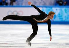 Russia's Yevgeny Plushenko performs during the Men's Figure Skating Team Short Program at the Iceberg Skating Palace during the Sochi Winter Olympics on February 6, 2014 | View photo - Yahoo Sport New Zealand