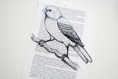 Print on bookpages – DIY