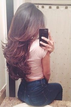 I wish I could have hair like this.