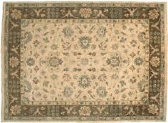 This rug is from undoubtedly one of the most beautiful time honored collections of vegetable-dyed rugs from Pakistan. This ultra fine rug is hand-knotted of pure wool then washed to a soft antique finish. An Original Fine Peshawar rug is the choice when exceptional design, color, quality, as well as an antique finish is demanded.