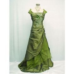 victorian dress green - Google Search