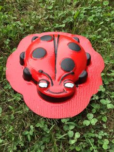 Concrete Ladybug mold ,New Happy Face , so easy to use so get one today and start making your own Ladybugs. Concrete Molds, Poured Concrete, Make Your Own, How To Make, Diy Molding, Mold Making, Happy Women, Ladybugs, Garden Art