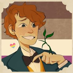 """ridzakun: """" My anxious bby for pride month I couldnt decide which one was better so have both (his sexuality is just my hc,so in this case(no pun intended) it's asexual panromantic) """" Estilo Harry Potter, Gay Harry Potter, Character Art, Character Design, Ace Pride, Arte Sketchbook, Fandoms, Fantastic Beasts And Where, Pokemon"""