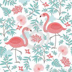 Seamless pattern by Elena Lishanskaya, via Dreamstime