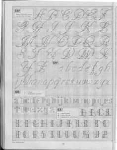 Back stitch alphabet | Gallery.ru / Фото #1 - 5 - KIM-3