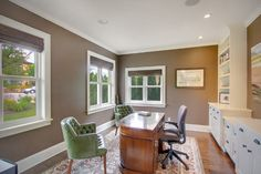 Kirkland Tanditional - traditional - home office - seattle - RW Anderson Homes