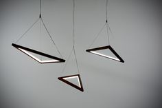 Triangle Pendants from hollis+morris Shapes Collection