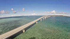 日本最長の無料で渡れる橋「伊良部大橋」がまもなく完成! 開通前にウォーキング大会開催 - ニュース | たびらい沖縄