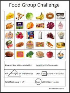 Intro to Food Groups and differentiated worksheets by seasquirt ...