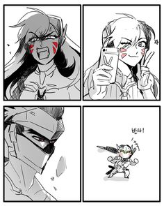 Bottom right is canon genji and no one can convince me otherwise