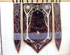 Wedding banner inspired by Arwen's bedroom by ClassyInteriorsDeco