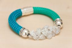 Emerald Green and Turquoise Blue Climbing Rope Cord от LannoCorda