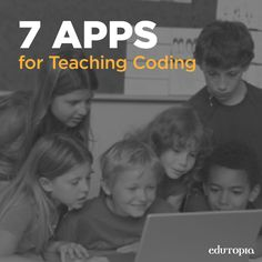 Use this AWESOME list of apps to help kids stay sharp on problem-solving, creativity, & critical thinking. (Tech Tips Kids) Apps For Teaching, Teaching Programs, Student Learning, Teaching Kids, Logic And Critical Thinking, Computer Literacy, Computational Thinking, Programming For Kids, Computer Programming
