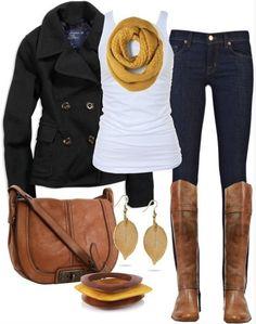 Fall Fashion jllconyers.com #fall #fashion #boots #scarves #jeans #leggings