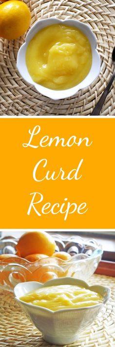 Lemon Curd Recipe RoseBakes