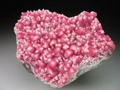 Cobaltoan Calcite // Bou Azzer, Morocco