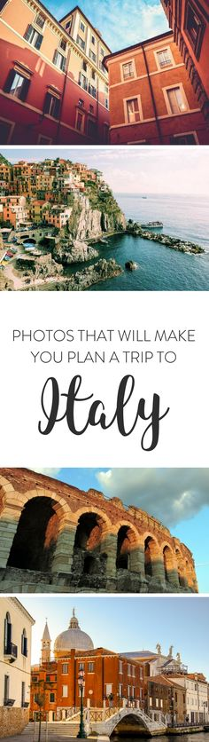 Italy | Looking for some travel inspiration? Here are a few photos of Italy that will get you excited and start planning a trip to explore this beautiful country.