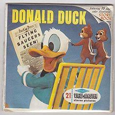 Disney Toys, Disney Cartoons, Duck Story, Kids Toys, Children's Toys, View Master, Cartoon Tv, Vintage Disney, Disneyland
