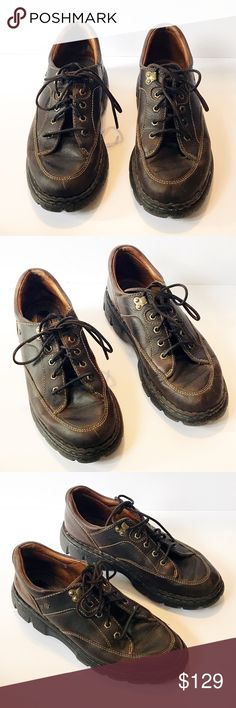 Born handcrafted leather work shoes Born handcrafted leather work shoes  Item: Born handcrafted leather work shoes Color: Brown Style: Work Shoes Tennis Shoes Size: 9  **Please see all photos. Feel free to ask any questions before purchase**  BIN: Born Shoes