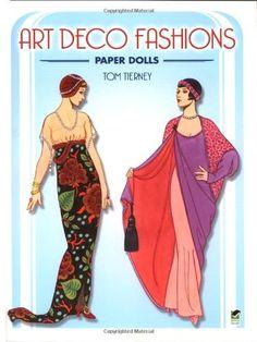 Art Deco Fashions Paper Dolls: Amazon.fr: Tom Tierney: Livres anglais et étrangers