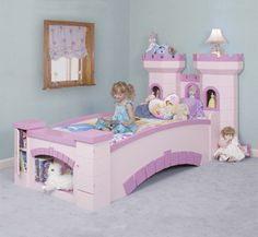 "New Custom Princess Castle/ Bridge Bed ""free Lights"""