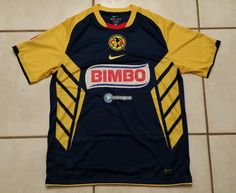 NWOT Authentic NIKE Club America Mexico Soccer Jersey Men's Large #Nike #ClubAmerica