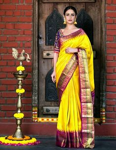 Looking for a sarees! Get booked now! is a 60 years old firm located in Vijayawada.💖 For bookings Contact: . Best sarees in India 🇮🇳 . Kanjivaram Sarees, Kanchipuram Saree, Silk Sarees, Saris, Set Saree, Saree Dress, Indian Attire, Indian Wear, Indian Dresses
