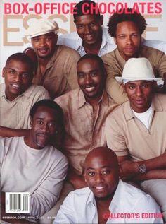 damon wayans, don cheadle, morris chestnut, mos def. Fine Black Men, Gorgeous Black Men, Handsome Black Men, Beautiful Men, Black Man, Beautiful People, Black Guys, Black People, Gorgeous Guys