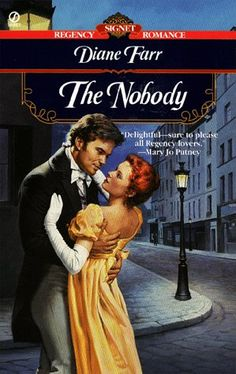 The Nobody (Signet Regency Romance) by Diane Farr http://www.amazon.com/dp/0451197712/ref=cm_sw_r_pi_dp_n8S6ub0D5CSPK