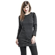 "Abito donna ""Knit Stripe Dress"" del brand #PussyDeluxe."