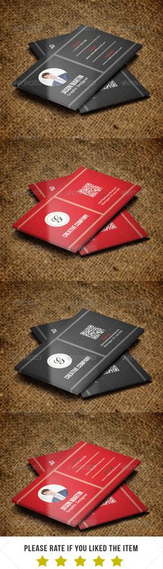 Corporate Business Card v38 #GraphicRiver Corporate Business Card v38 – Very Good Performance For Any Company. Feature : - Fully Layered PSD Files. - Customizable And Editable. - 3.5×2.0 (3.75×2.25 With Bleed Setting ). - 300 DPI High Resolution. - CMYK Color Mode. - Print Ready. Free Font: - Bebas Neue – .fontsquirrel /fonts/bebas-neue - Colaborate – .fontsquirrel /fonts/Colaborate - loki-cola – .dafont /loki-cola.font File Include : - 4 PSD Files. - 1 Read me File. Created: 8November13…